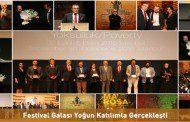 FESTİVAL GALASI YOĞUN KATILIMLA GERÇEKLEŞTİ