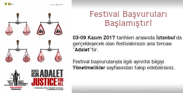 Festival başvuruları başlamıştır